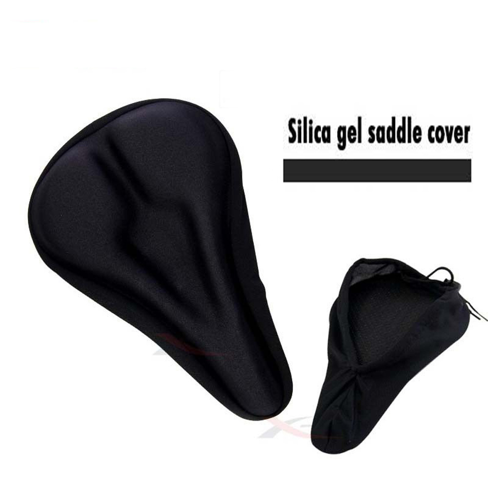 Bike Bicycle Extra Cycle Gel Pad Cushion Cover For Saddle Seat Rockbros Silicone Item Spec
