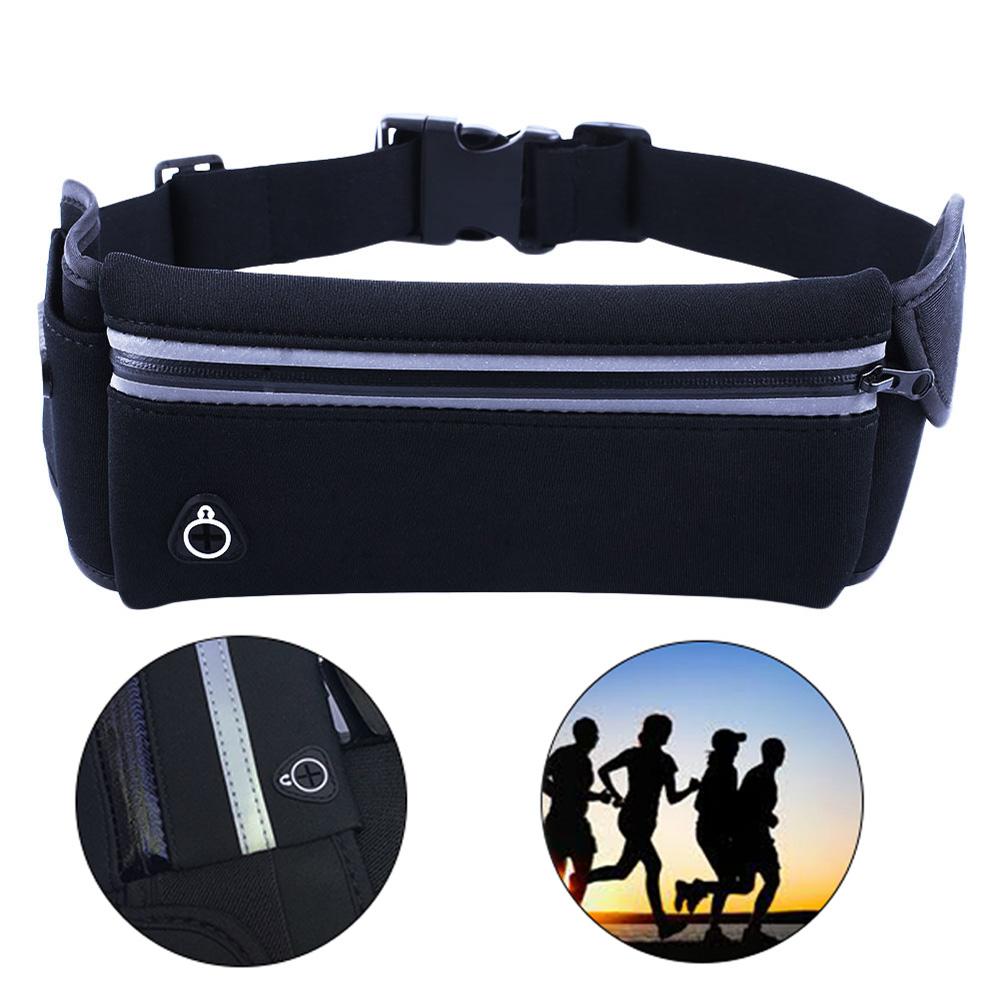Running Belt Unisex Sport Jogging Phone Keys Mobile Money Bum Bag Waist Travel