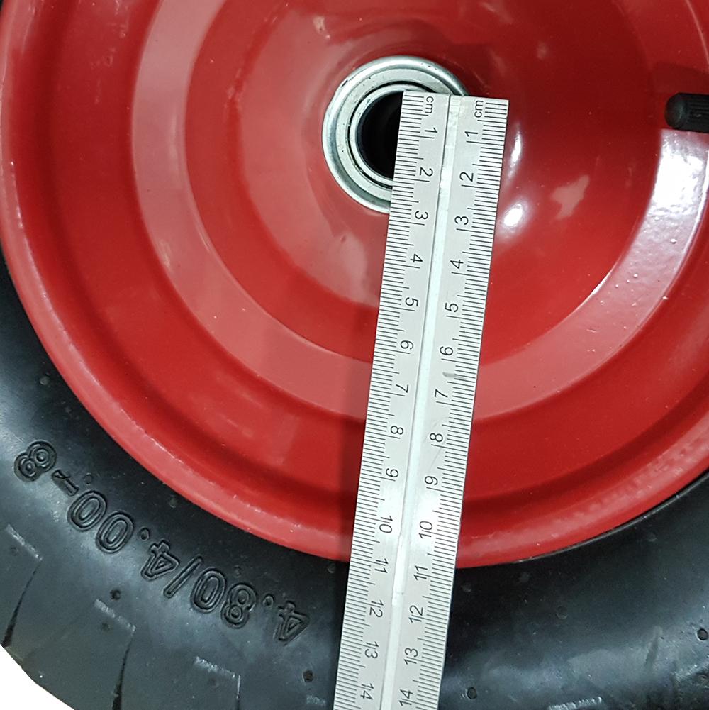 """15/"""" brouette pneumatique gonflable pneumatique 4.80//4.00-8 panier à main chariot ukdc"""