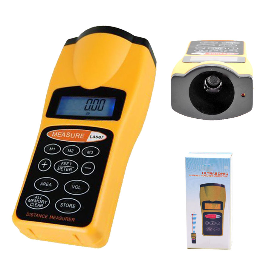 Pg Amp E Meter Number How Can I Know : New ultrasonic tape measure distance meter laser pointer