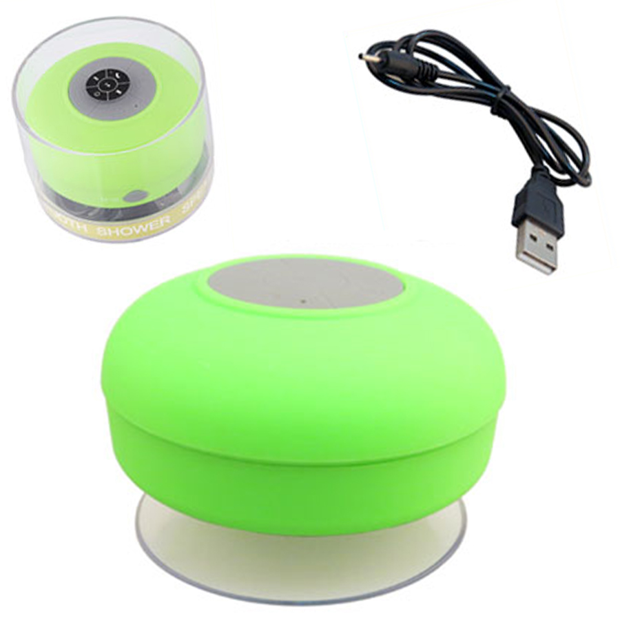 Stereo Wireless Bluetooth Handsfree Mic Suction Bathroom