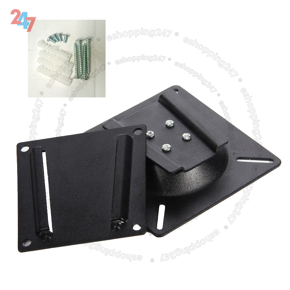 flat tv monitor wall mount bracket vesa 75x75 100x100 most 10 to 30 inch ebay. Black Bedroom Furniture Sets. Home Design Ideas