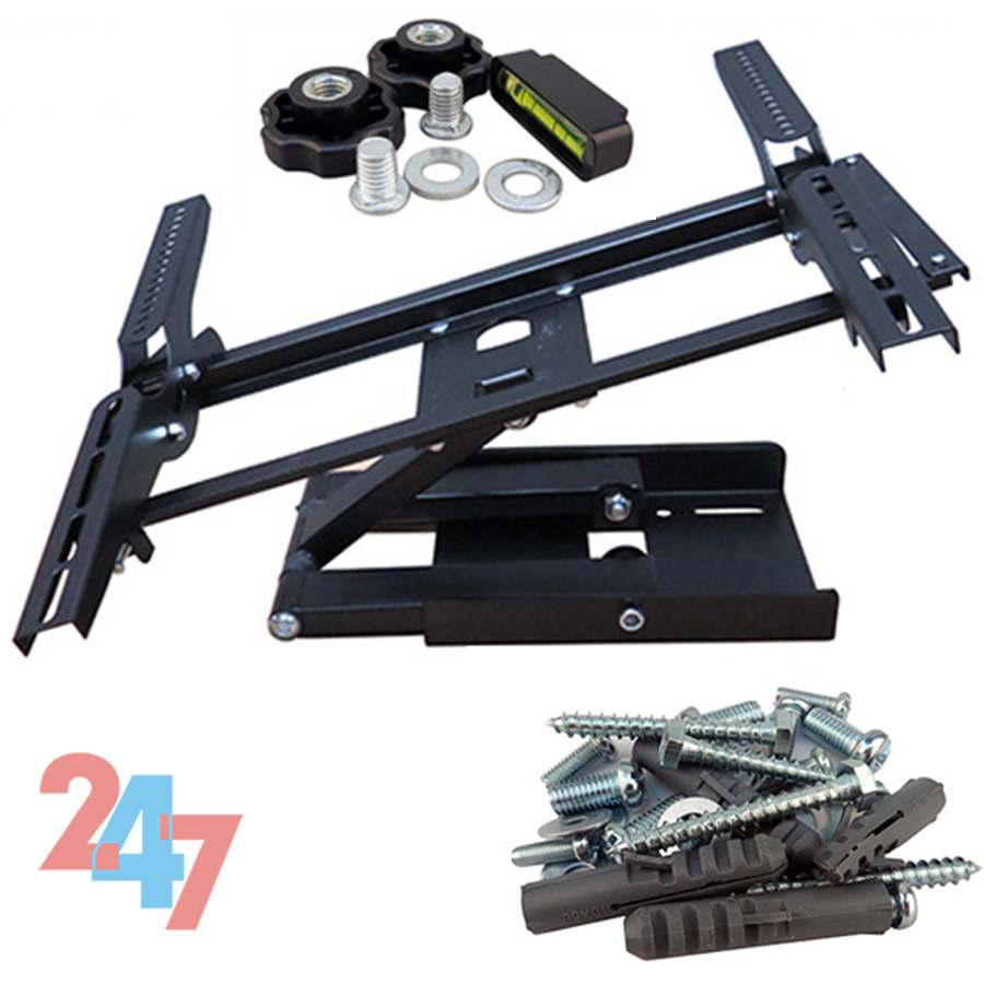 Tv Wall Mount Bracket Tilt Swivel 32 40 42 46 48 50 Inch