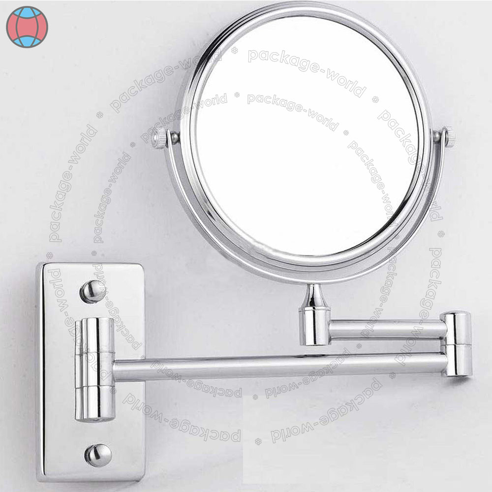 New Wall Mounted 5x Magnifying Bathroom Make Up Shaving Mirror Double Side Dcuk Ebay