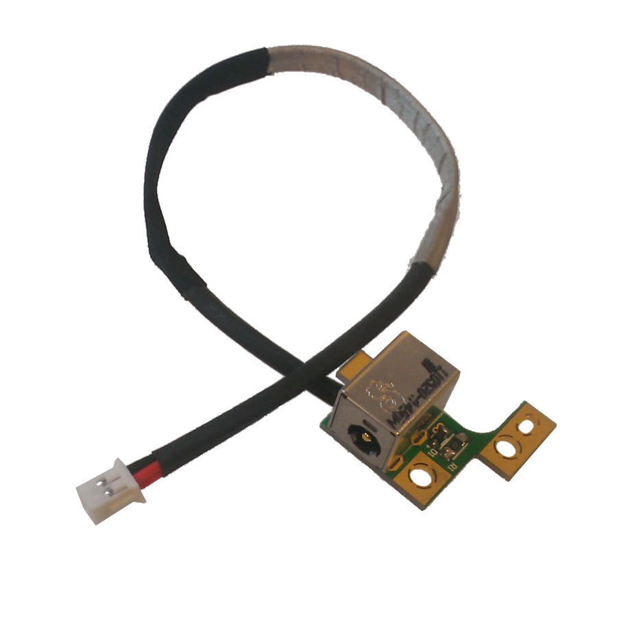 Hp Computer Cables And Connectors : Hp pavilion dv dc power jack port board for