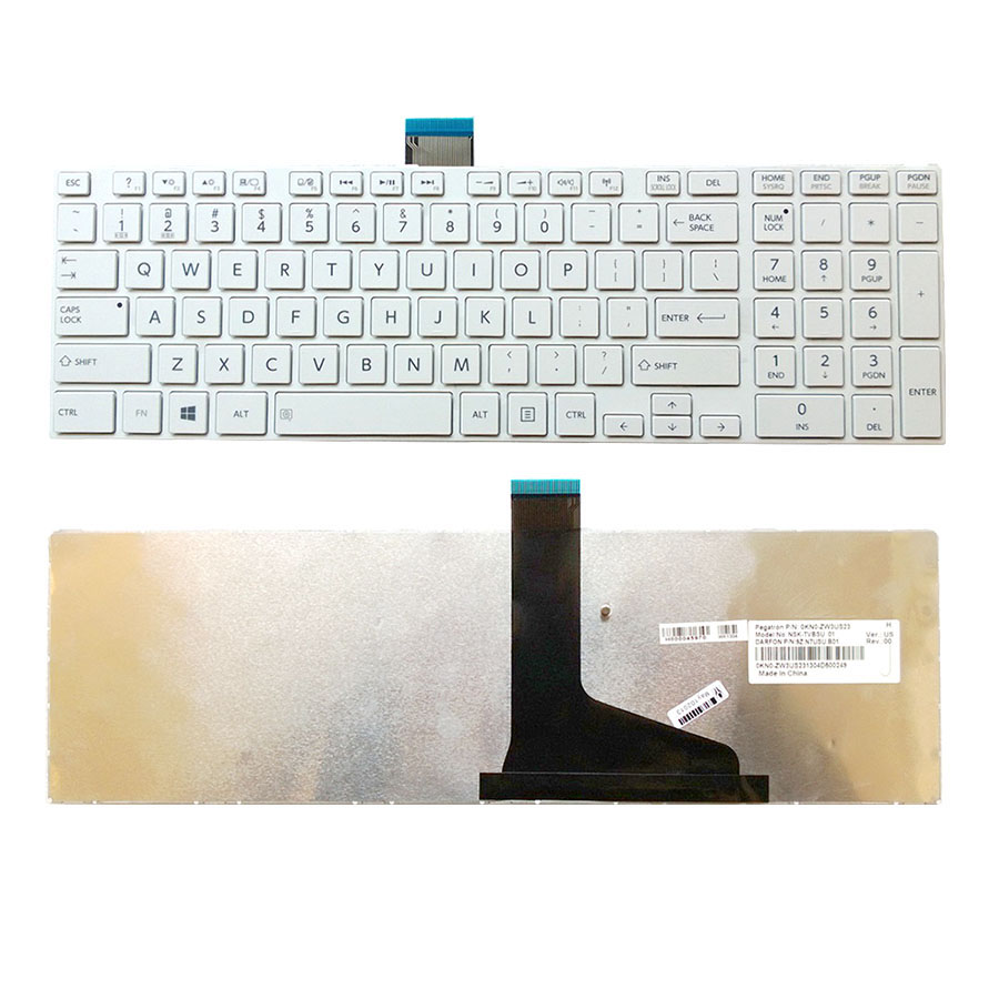 UK NEW Toshiba Satellite Pro C850 C850D C855 C855D Series Keyboard