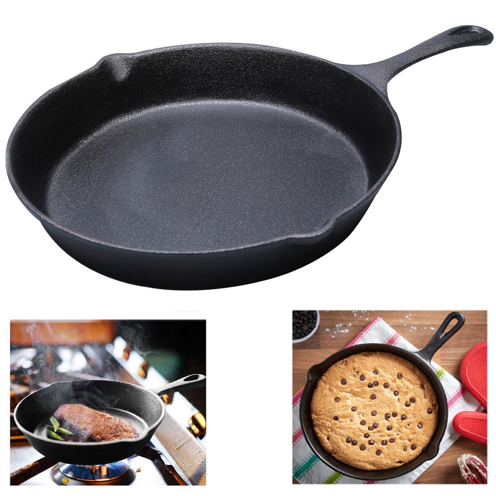 Grande fonte non-Stick Fry Pan BBQ induction cuisine crêpière Grill Poêle