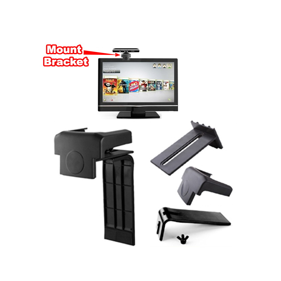 Xbox 360 Consol Game Kinect Sensor Mount Bracket Holder
