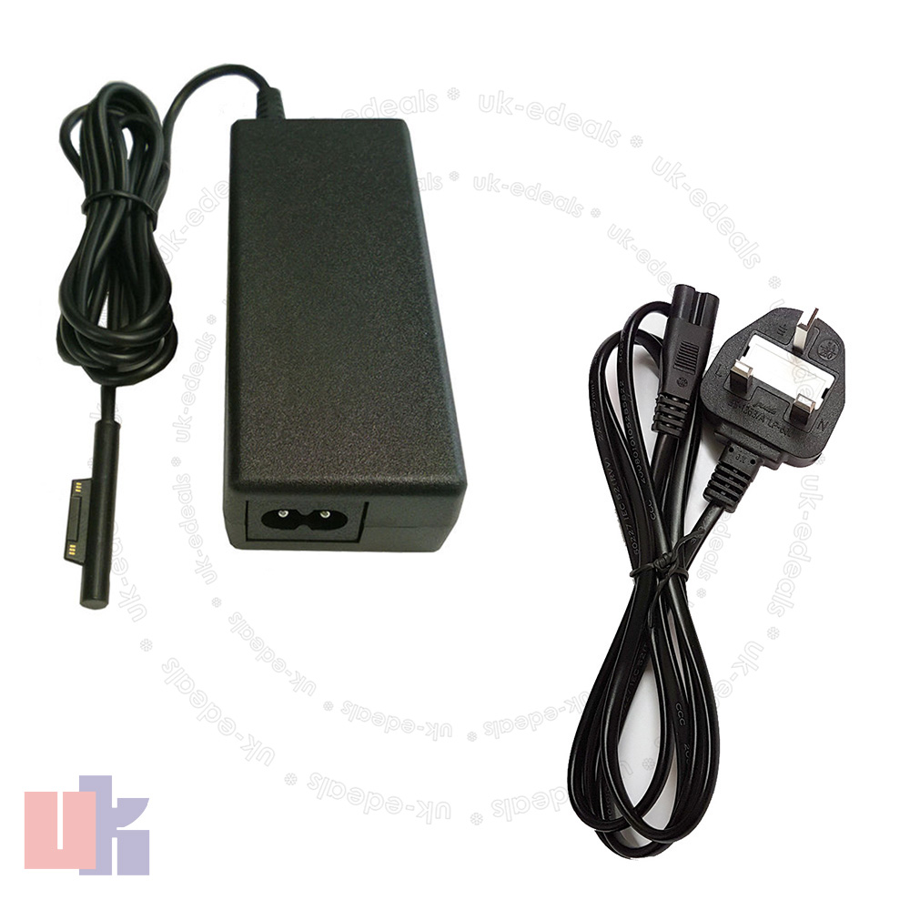 for microsoft surface pro 3 adapter power supply charger 12v with uk cable ebay