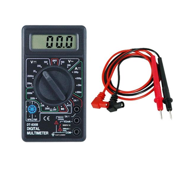 Digital Volt Ohmmeter : Professional digital multimeter volt meter ammeter ac dc