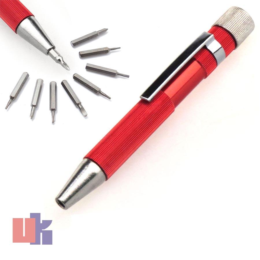 9in1 precision magnetic mini micro torx kit slotted philips screwdriver bit set ebay. Black Bedroom Furniture Sets. Home Design Ideas